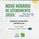 Novo horário de atendimento Vapt Vupt Cidade Jardim